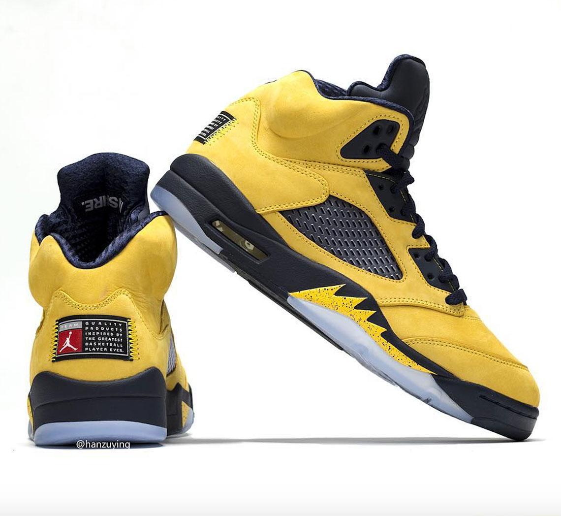 best sneakers 29624 069ad Air Jordan 5 Michigan