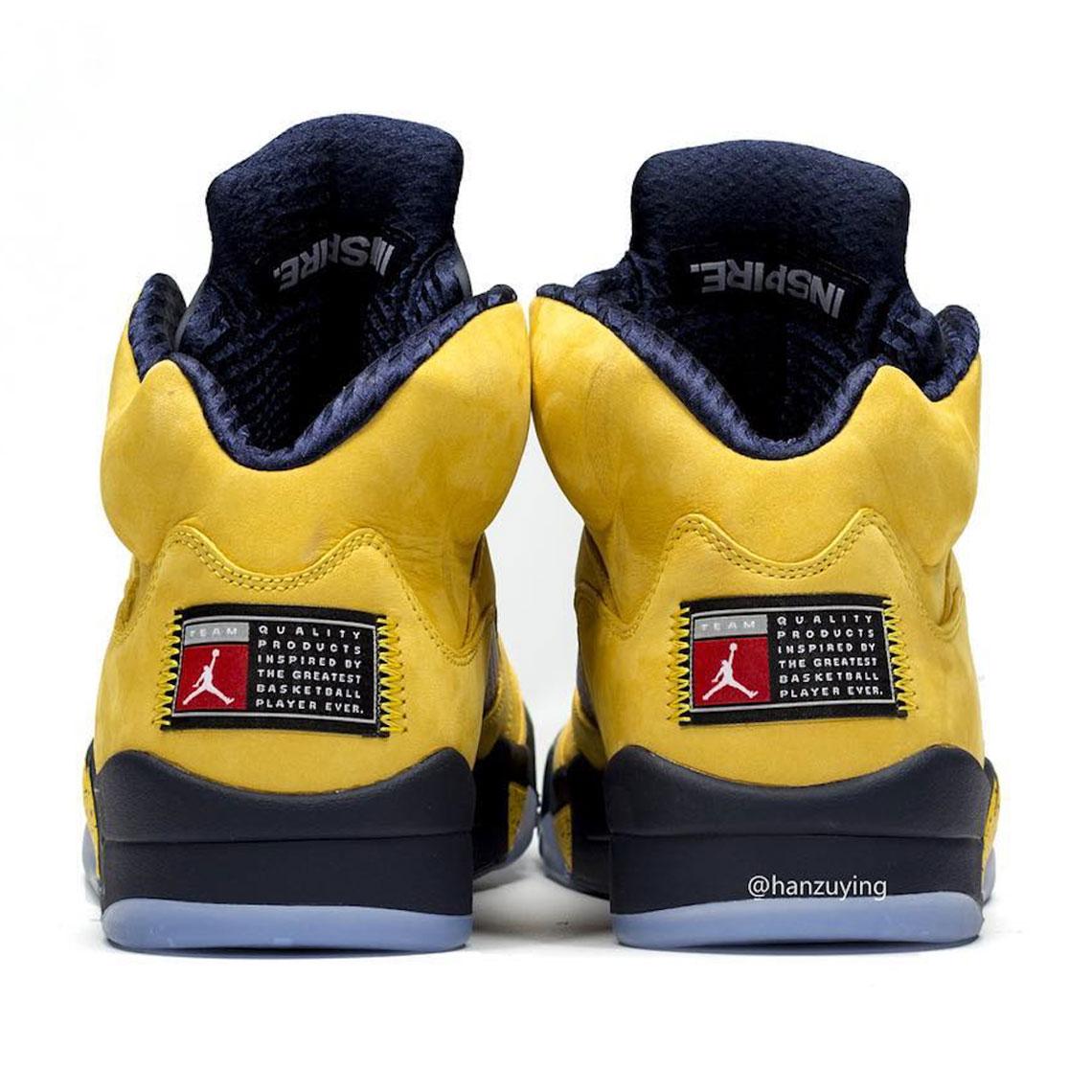 Air Jordan 5 Michigan \