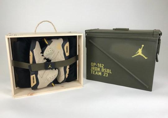 Jordan MLB Athletes Receive Military-Themed Air Jordan 6 PE Packs