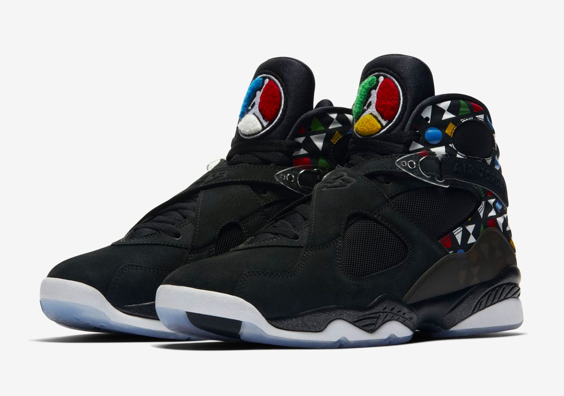 Air Jordan 8 Quai 54 Release Info | SneakerNews.com