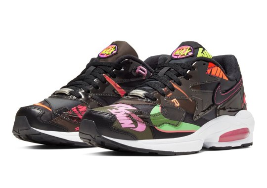The atmos x Nike Air Max 2 Light Appears In Alternate Black Colorway