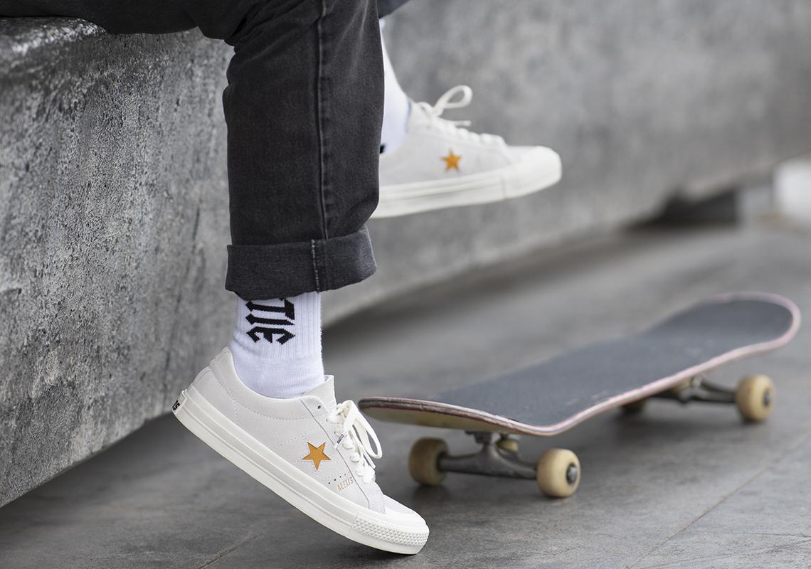 compacto Cilios deseo  Converse One Star Pro Alexis Sablone Release Date | SneakerNews.com