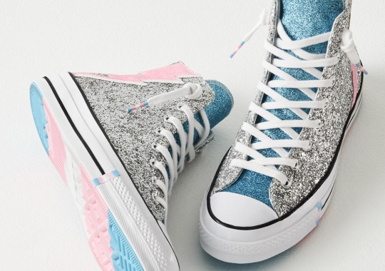 Converse Debuts New Trans Flag Design For 2019 Pride Collection