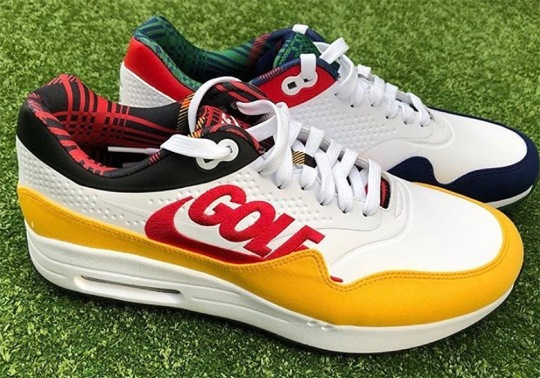 Crooks And Castles Has A Nike Air Max 1 Golf Shoe Collaboration