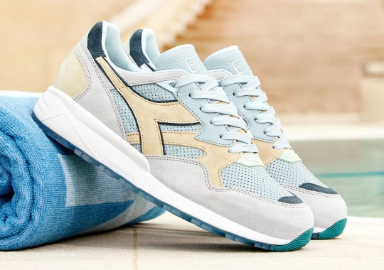 """END And Diadora's N9002 """"Lido"""" Is Inspired By Northern Italy's Open Air Pools"""