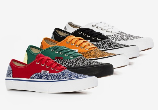 Fucking Awesome Celebrates Their Store Opening With Five All-Over-Print Vans Authentics