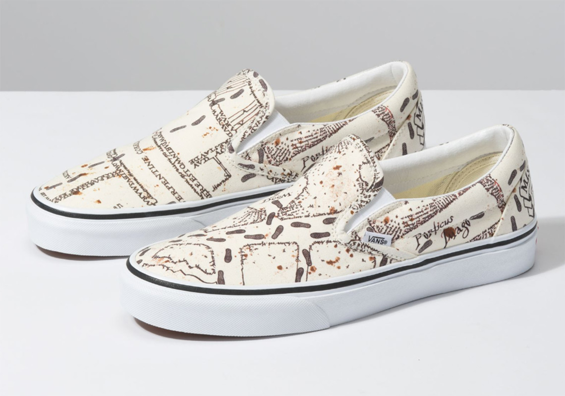Harry Potter Vans Shoes Available Now