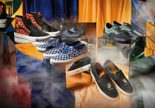 Harry Potter And Vans To Release Four Shoe Collection