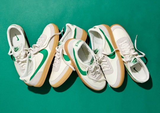 J.Crew Delivers An Exclusive Green Colorway Of The Nike Killshot