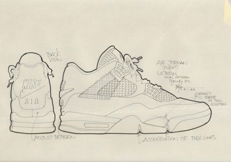 83cb3183844 The Air Jordan 4 was designed by Tinker Hatfield. The legendary sneaker  architect wasn't around since the beginning of the Air Jordan line, but he  entered ...