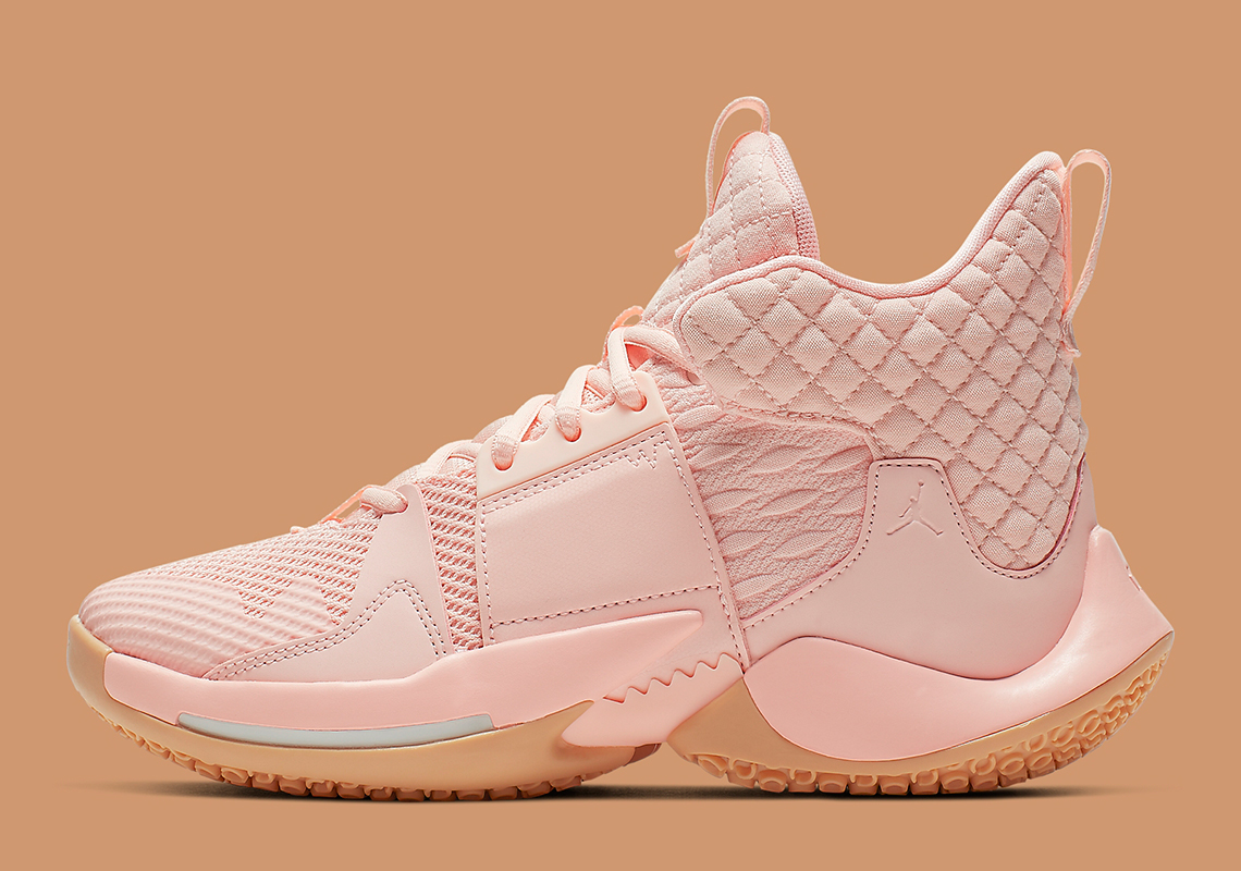 "outlet store a4387 f260f The Jordan Why Not Zer0.2 Is Releasing In A Kids-Sized ""Washed Coral"""