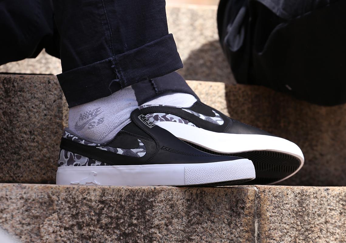 Matriz Nike SB Janoski Slip Camo