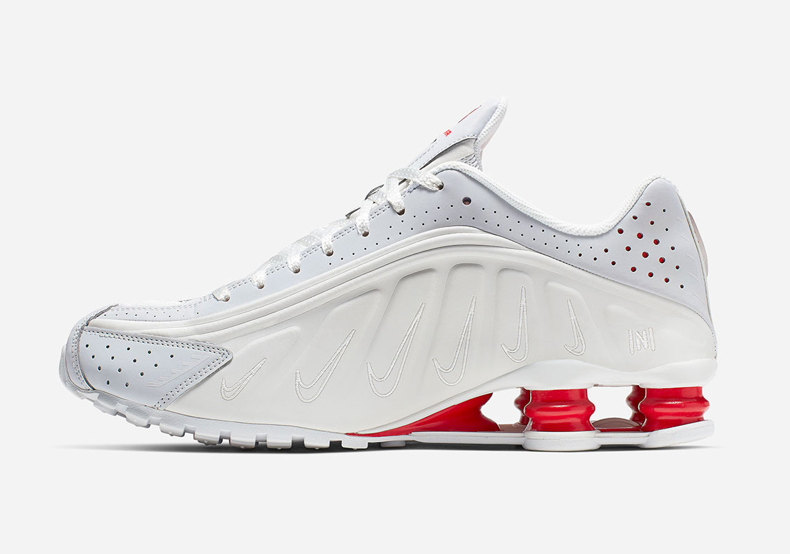 sale retailer 3038a 35297 ... Nike turned the Shox logo sideways to spell out the letter N in honor  of the football superstar. See the official photos ahead and stay tuned for  a ...