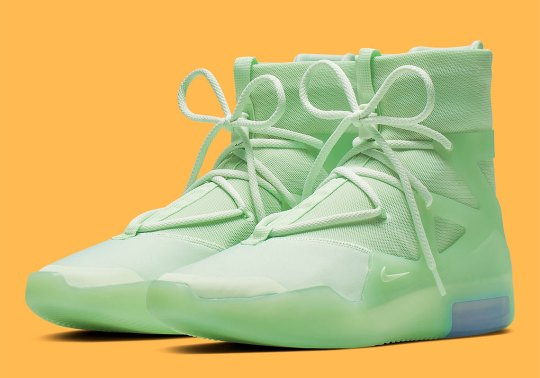 """Nike Air Fear Of God 1 """"Frosted Spruce"""" Releases On June 1st"""