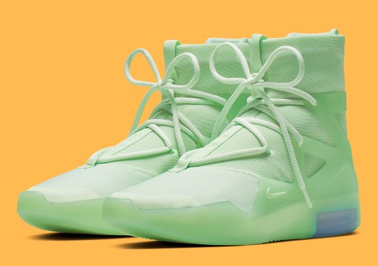 "Nike Air Fear Of God 1 ""Frosted Spruce"" Releases On June 1st"