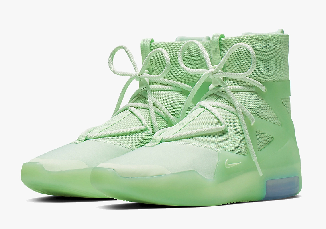 52225317 Nike Air Fear Of God 1 Frosted Spruce Green AR4237-300 | SneakerNews.com