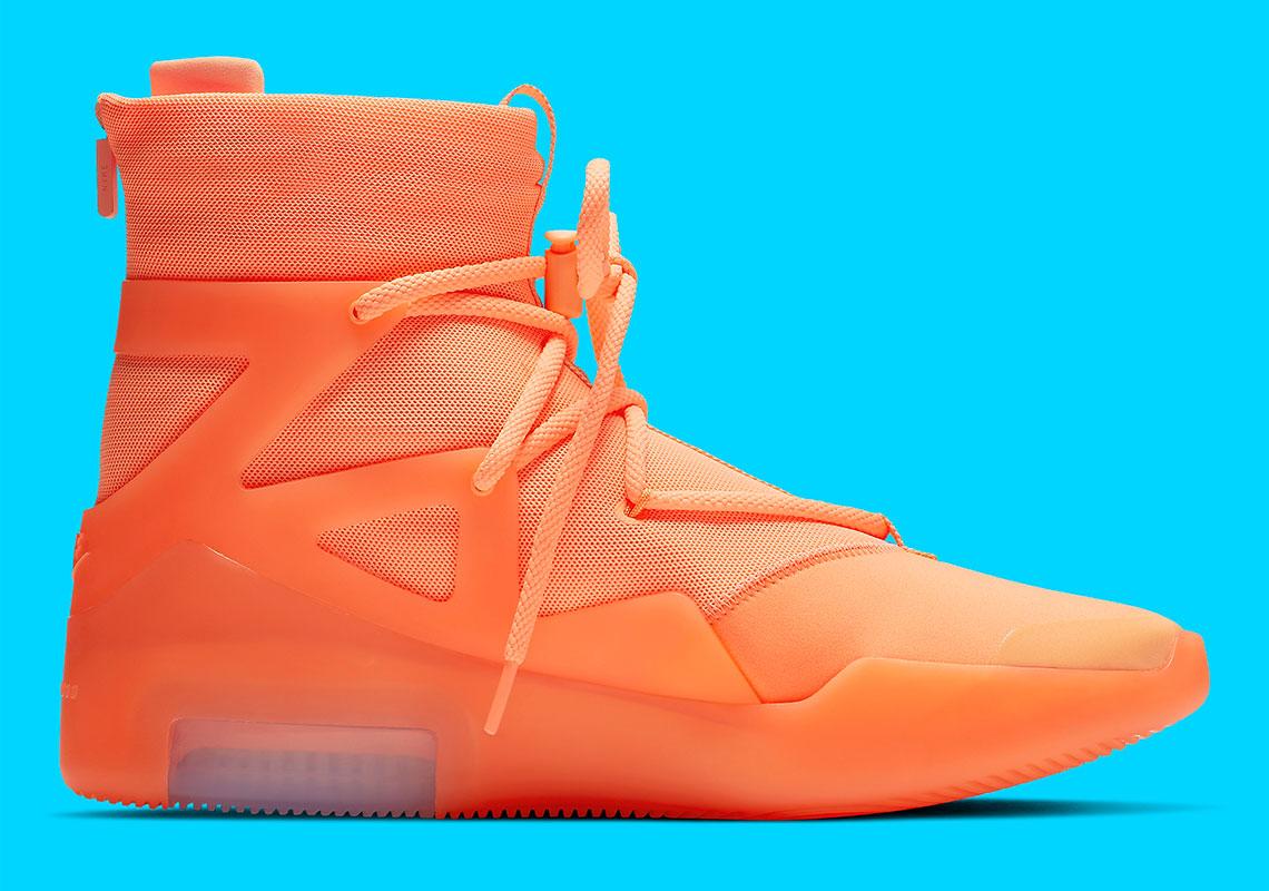 Abundancia recomendar coro  Nike Air Fear of God 1 Orange Pulse AR4237-800 | SneakerNews.com