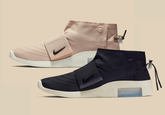 Where To Buy The Nike Air Fear Of God Moc In Black And Particle Beige