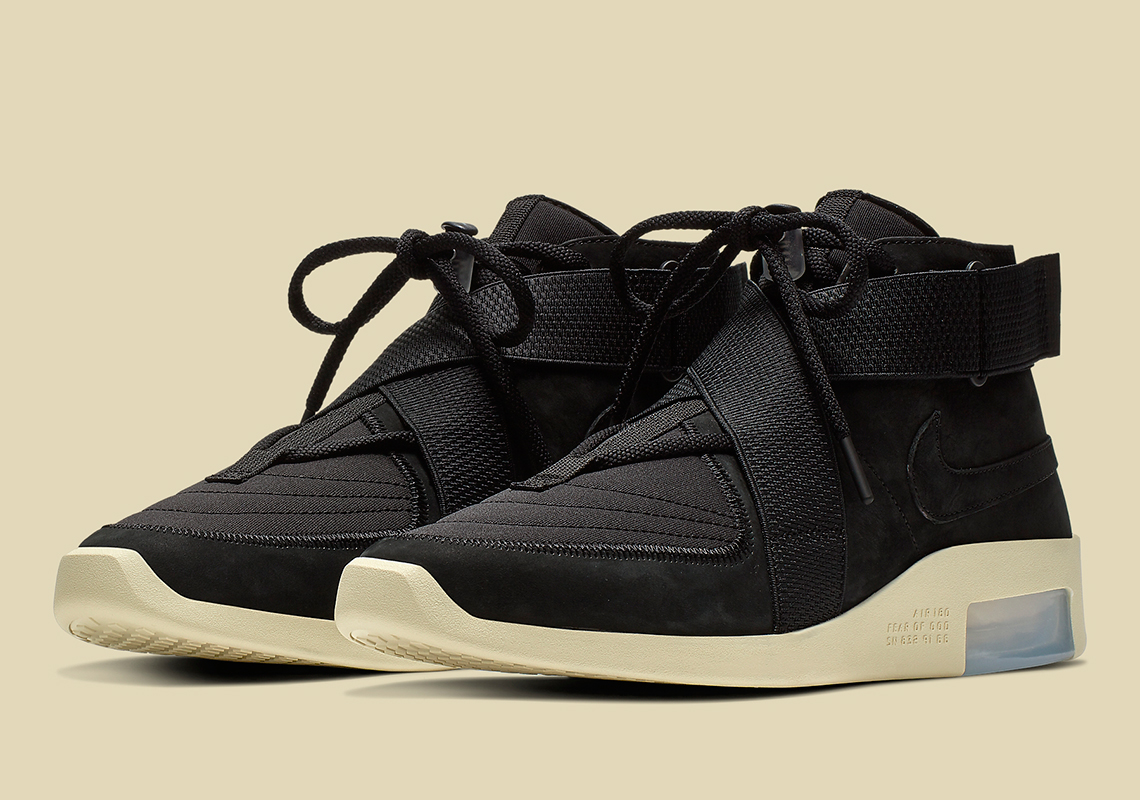 Nike Air Fear Of God Raid Black AT8087 002 Release Info