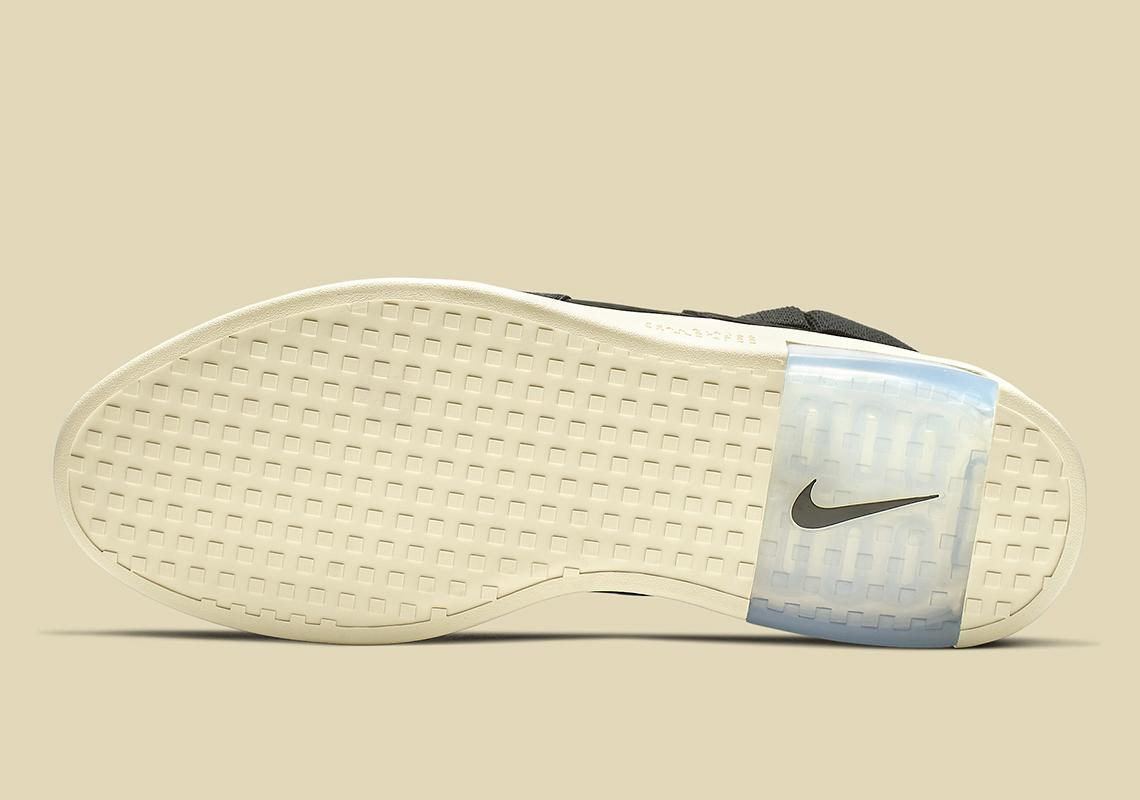 the latest 45c89 3a96b Nike Air Fear Of God Raid Black AT8087-002 Release Info ...