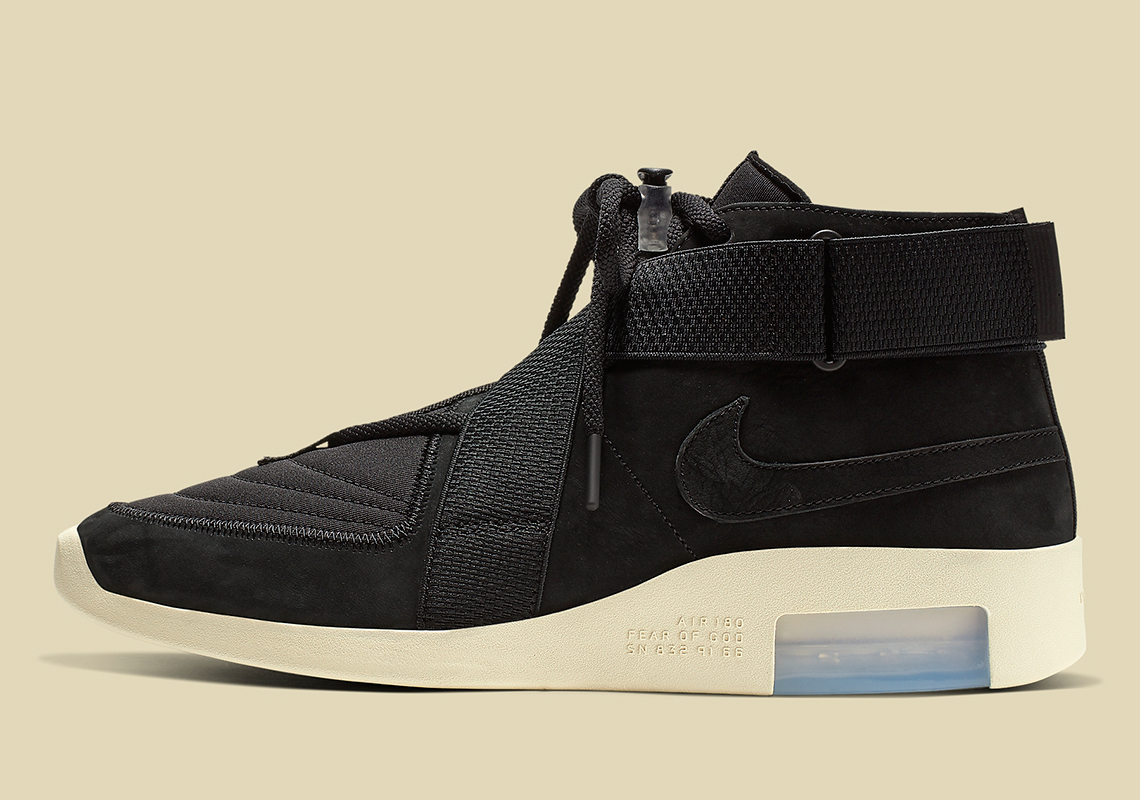 100% authentic 41288 b143d Where To Buy The Nike Air Fear Of God Raid In Black