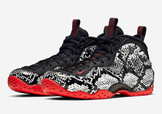 "Where To Buy The Nike Air Foamposite One ""Snakeskin"""