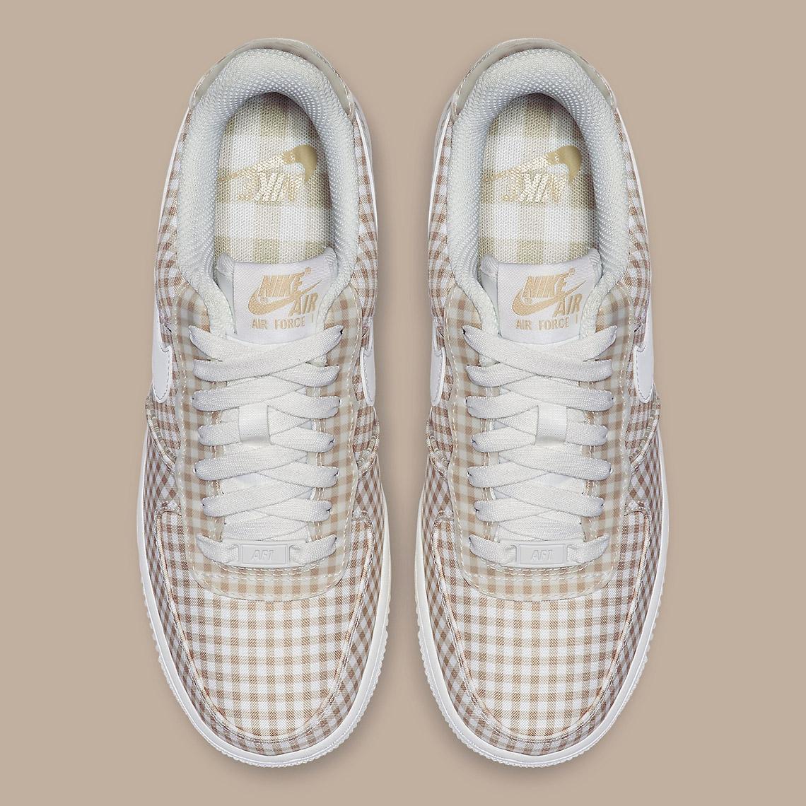 Nike Air Force 1 Gingham Pack Summer Release HYPEBAE  HYPEBAE