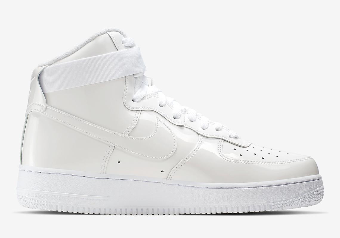 Nike Air Force 1 High Sheed White 743546 107 Release Date