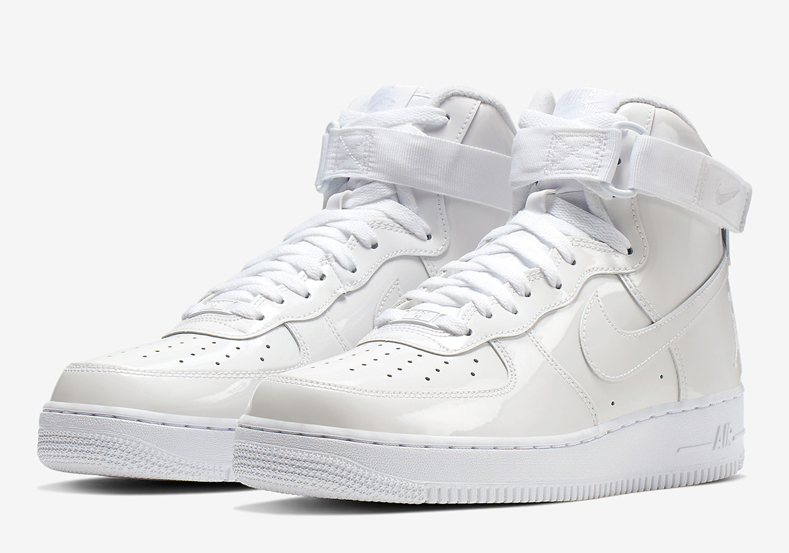 new concept 13221 5d46c Nike Air Force 1 High Sheed White 743546-107 Release Date ...
