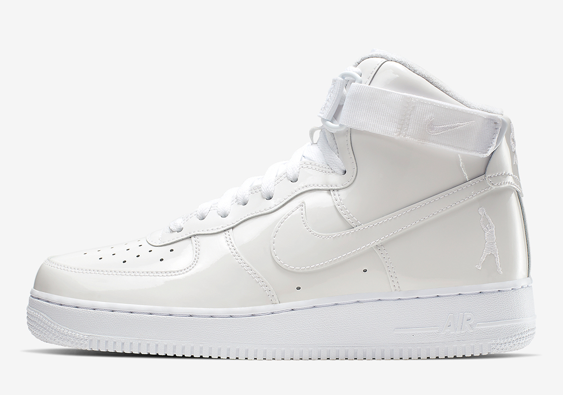 """more photos c360d 710fb Nike Is Releasing An Air Force 1 High """"Sheed"""" In All White"""