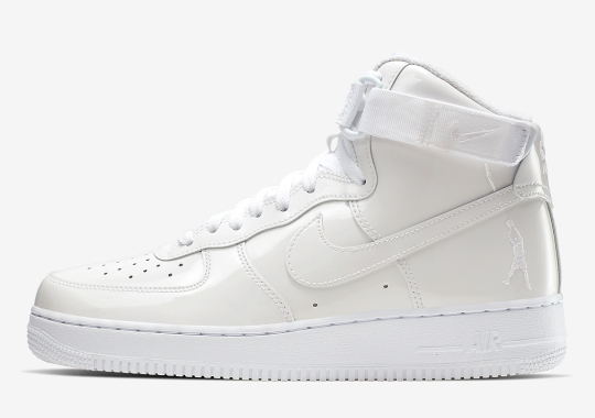 "Nike Is Releasing An Air Force 1 High ""Sheed"" In All White"