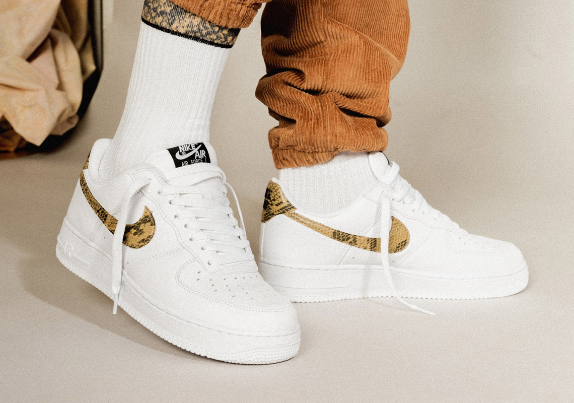 c51a4b296c Nike Air Force 1 Python Snake Release Info (Store List) | SneakerNews.com