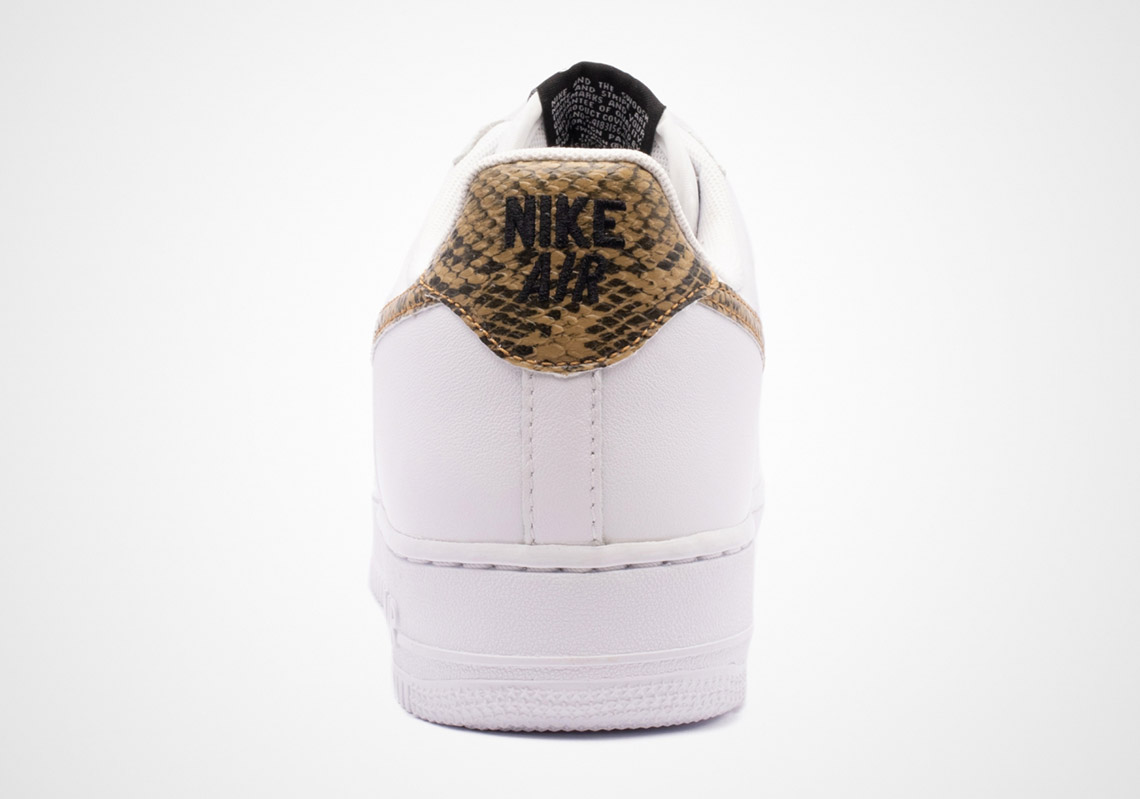 Nike Air Force 1 Python Snake Release Info (Store List