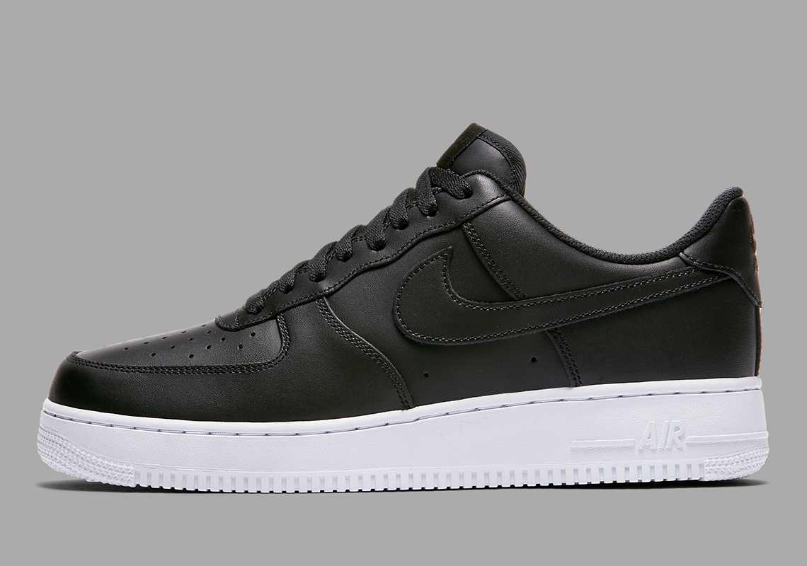 the latest b7820 5e84b Nike Air Force 1 Low Black White AA4083-015 Release Info ...