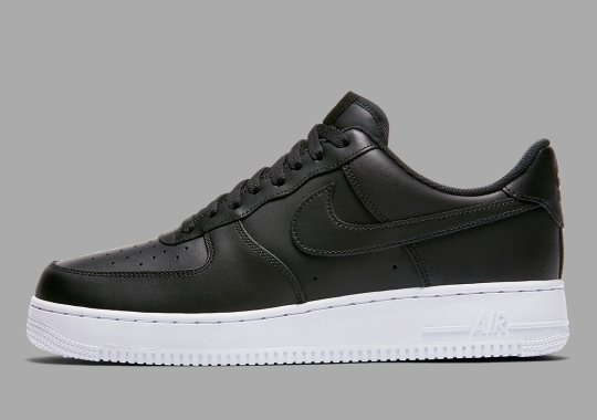 timeless design ded44 bf2ee Replenish Your Essentials With This Smooth Nike Air Force 1 Low In Black