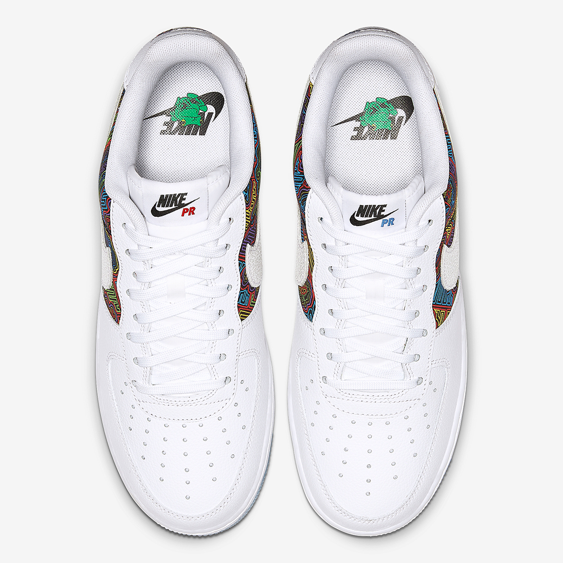 sneakers for cheap b221f 43188 Nike Air Force 1 Low Puerto Rico CJ1620-100 Release Info ...