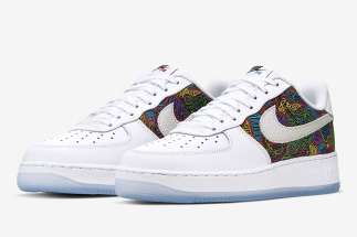 58684cf07796 A Festive Mural Appears On The Nike Air Force 1 Low For Puerto Rico