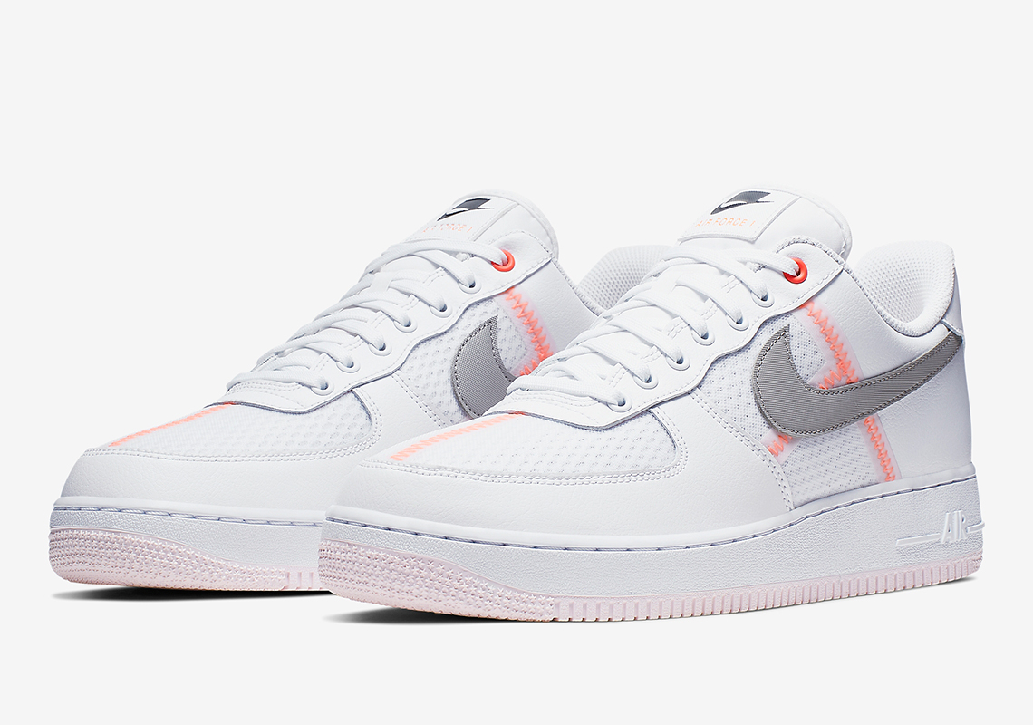 official on feet at detailed images Nike Air Force 1 Low Transparent Pack Release Info ...