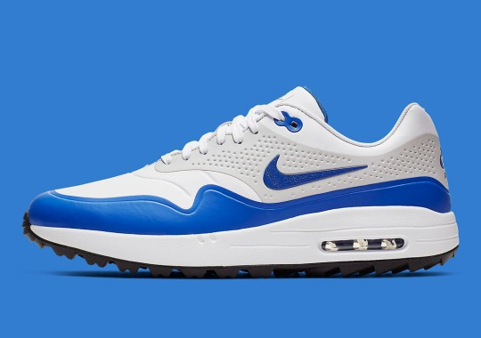 73c6a90bcfb Nike Releases The Air Max 1 Golf Shoe In The Classic Royal Colorway