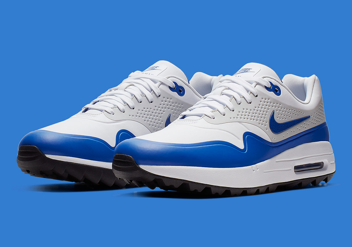 Nike Releases The Air Max 1 Golf Shoe In The Classic Royal Colorway