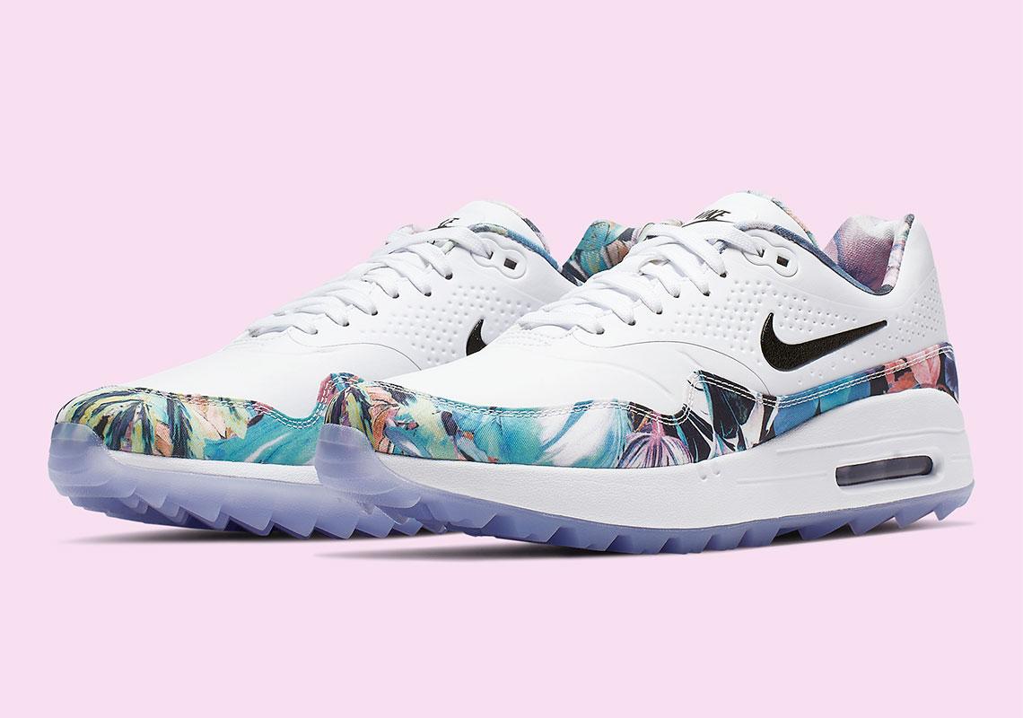 Nike Air Max 1 Golf Floral Womens