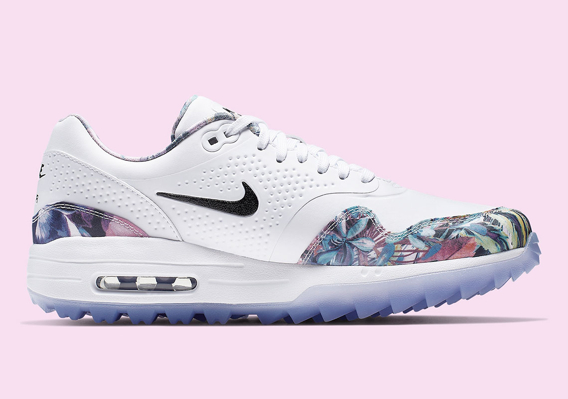 nike golf floral shoes