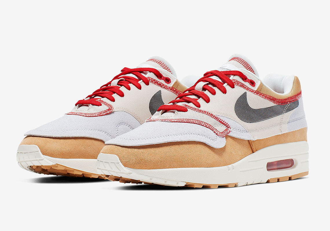 "big sale f84f9 fe02a Official Images Of The Nike Air Max 1 ""Inside Out"""