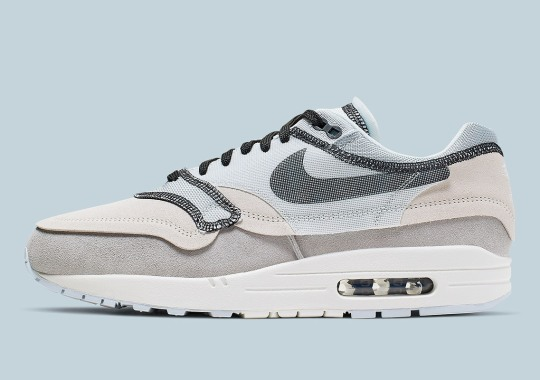 "save off c814f 88694 Official Images Of The Nike Air Max 1 Inside Out ""Phantom"""