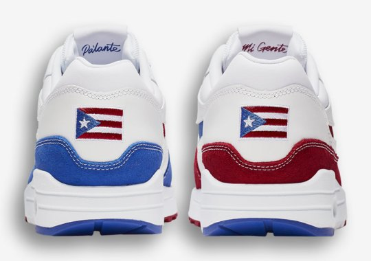 buy online ade0b 080f3 Nike Is Releasing An Air Max 1 Prior To The Puerto Rican Day Parade