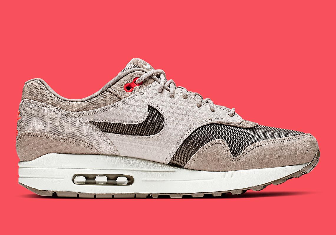 Nike Air Max 1 Tan Infrared 875844 205 Release Info