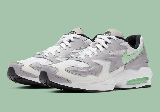 The Nike Air Max 2 Light Returns In Light Mint And Grey