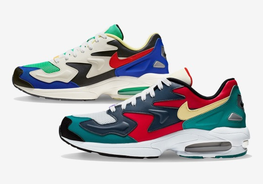 The Nike Air Max 2 Light SP Arrives Soon In Two Colorful Takes