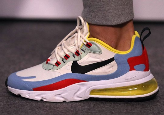 First Look At The Nike Air Max 270 React