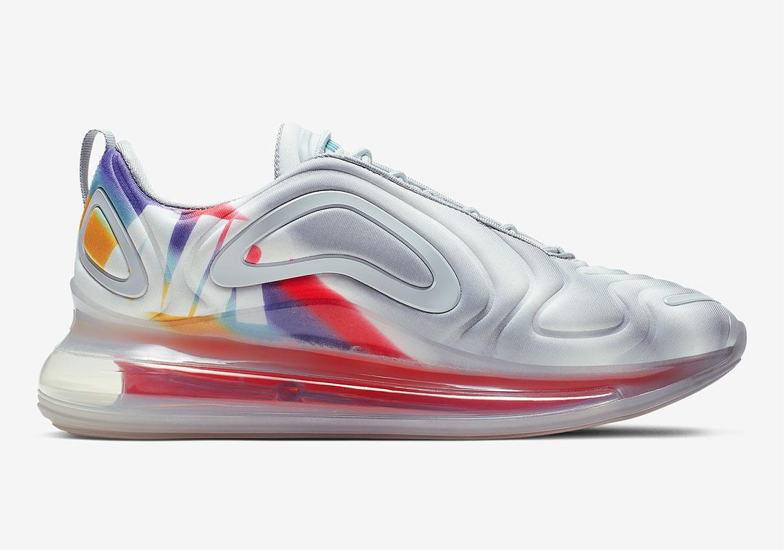 5abdf4426971 The Nike Air Max 720 Adds Rainbow Air Graphics